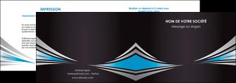 imprimerie depliant 2 volets  4 pages  web design abstrait arriere plan bande MIF84397