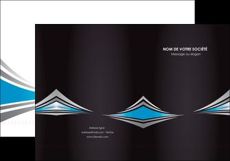exemple pochette a rabat web design abstrait arriere plan bande MLGI84401