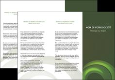 modele depliant 3 volets  6 pages  espaces verts texture contexture abstrait MLGI85455