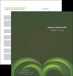 modele en ligne depliant 2 volets  4 pages  espaces verts texture contexture abstrait MLGI85457