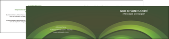 exemple depliant 2 volets  4 pages  espaces verts texture contexture abstrait MLGI85465