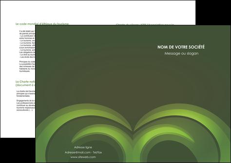 imprimer depliant 2 volets  4 pages  espaces verts texture contexture abstrait MLGI85469