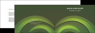realiser depliant 2 volets  4 pages  espaces verts texture contexture abstrait MLGI85473
