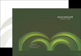 personnaliser modele de pochette a rabat espaces verts texture contexture abstrait MLGI85477