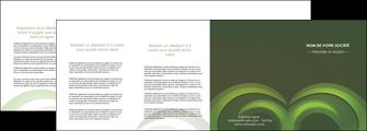realiser depliant 4 volets  8 pages  espaces verts texture contexture abstrait MLGI85491