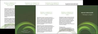 realiser depliant 4 volets  8 pages  espaces verts texture contexture abstrait MLGI85497