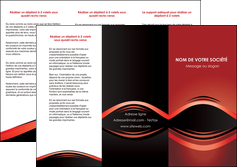 imprimer depliant 3 volets  6 pages  web design texture contexture abstrait MIF86267