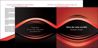 imprimerie depliant 2 volets  4 pages  web design texture contexture abstrait MIF86271