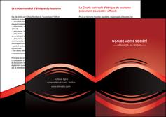 cree depliant 2 volets  4 pages  web design texture contexture abstrait MIF86281