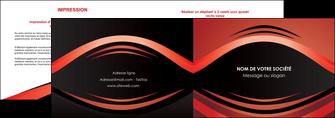 maquette en ligne a personnaliser depliant 2 volets  4 pages  web design texture contexture abstrait MIF86285