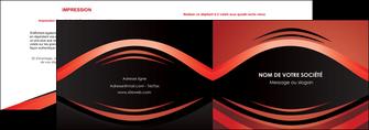 creer modele en ligne depliant 2 volets  4 pages  web design texture contexture abstrait MIF86287