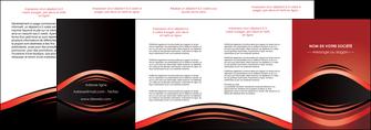 exemple depliant 4 volets  8 pages  web design texture contexture abstrait MIF86303