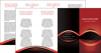 creer modele en ligne depliant 4 volets  8 pages  web design texture contexture abstrait MIF86307