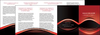 modele en ligne depliant 4 volets  8 pages  web design texture contexture abstrait MIF86309