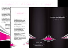 Commander Plaquette publicitaire Restaurant modèle graphique pour devis d'imprimeur Dépliant 6 pages Pli roulé DL - Portrait (10x21cm lorsque fermé)