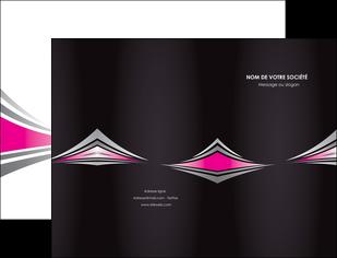 maquette en ligne a personnaliser pochette a rabat restaurant menu restaurant liste menu rose MLIG86481