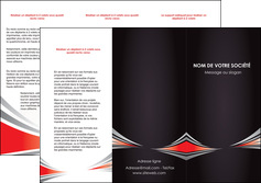 creer modele en ligne depliant 3 volets  6 pages  web design texture contexture structure MLIG86509