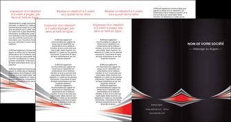 personnaliser modele de depliant 4 volets  8 pages  web design texture contexture structure MIF86549