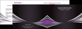 personnaliser maquette depliant 2 volets  4 pages  web design texture contexture structure MIF86579