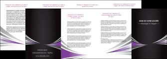 imprimer depliant 4 volets  8 pages  web design texture contexture structure MIF86597