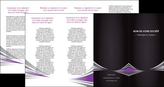 faire depliant 4 volets  8 pages  web design texture contexture structure MIF86601