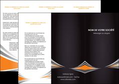 cree depliant 3 volets  6 pages  web design texture contexture structure MIF86613