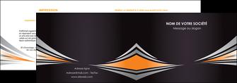 exemple depliant 2 volets  4 pages  web design texture contexture structure MIF86633
