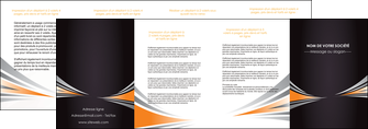 faire depliant 4 volets  8 pages  web design texture contexture structure MLGI86649