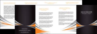 faire depliant 4 volets  8 pages  web design texture contexture structure MIF86649