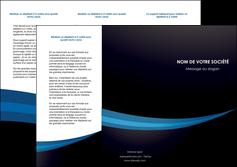 personnaliser maquette depliant 3 volets  6 pages  web design texture contexture structure MLGI86991
