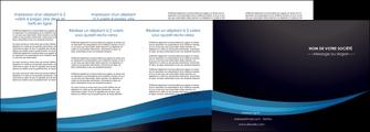 personnaliser maquette depliant 4 volets  8 pages  web design texture contexture structure MLGI87009