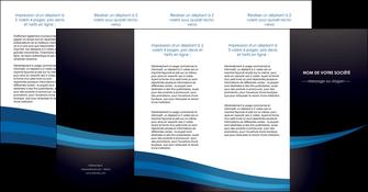 imprimerie depliant 4 volets  8 pages  web design texture contexture structure MLGI87013