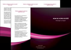 personnaliser modele de depliant 3 volets  6 pages  web design texture contexture structure MLGI87147