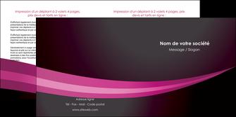 faire depliant 2 volets  4 pages  web design texture contexture structure MLGI87151