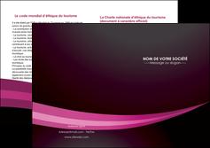 modele depliant 2 volets  4 pages  web design texture contexture structure MLGI87161