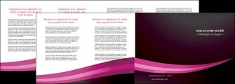 realiser depliant 4 volets  8 pages  web design texture contexture structure MLGI87165
