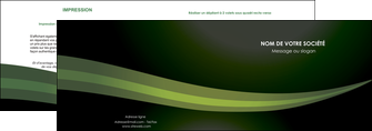 impression depliant 2 volets  4 pages  texture contexture structure MIF87189
