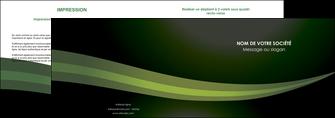 exemple depliant 2 volets  4 pages  texture contexture structure MIF87191
