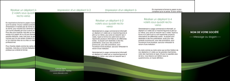 personnaliser modele de depliant 4 volets  8 pages  texture contexture structure MIF87223