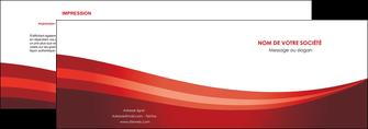 cree depliant 2 volets  4 pages  web design texture contexture structure MLIP87241