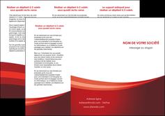 modele en ligne depliant 3 volets  6 pages  web design texture contexture structure MLIP87251