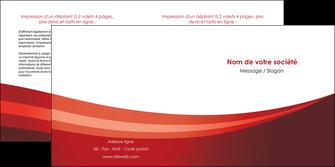 creation graphique en ligne depliant 2 volets  4 pages  web design texture contexture structure MLIP87255
