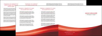 imprimer depliant 4 volets  8 pages  web design texture contexture structure MLIP87269