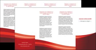 modele en ligne depliant 4 volets  8 pages  web design texture contexture structure MLIP87273