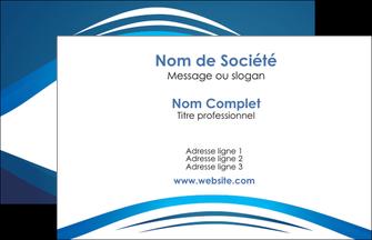 Commander cartes de visite impression vernis selectif Web Design modèle graphique pour devis d'imprimeur Carte de Visite - Paysage