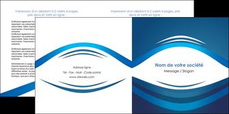personnaliser modele de depliant 2 volets  4 pages  web design texture contexture structure MLGI87445