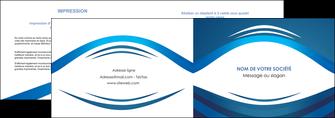 cree depliant 2 volets  4 pages  web design texture contexture structure MLGI87459