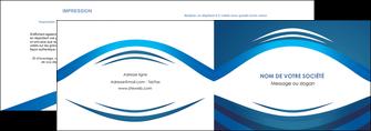 maquette en ligne a personnaliser depliant 2 volets  4 pages  web design texture contexture structure MLIG87461