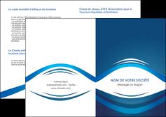 imprimer depliant 2 volets  4 pages  web design texture contexture structure MLIG87469