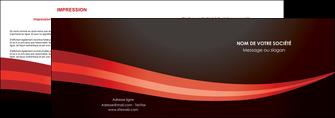 imprimerie depliant 2 volets  4 pages  web design texture contexture structure MLGI87607